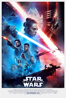 This is a poster for Star Wars: The Rise of Skywalker. The poster art copyright is believed to belong to the distributor of the film, Walt Disney Studios Motion Pictures, the publisher, Lucasfilm, or the graphic artist.